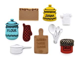 craft & hobbies: Jesse James Dress It Up Embellishments In The Kitchen