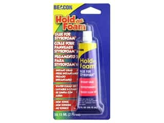 glues, adhesives & tapes: Beacon Hold the Foam Glue 2 oz.