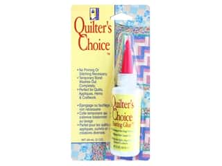 glues, adhesives & tapes: Beacon Quilter's Choice Basting Glue 2 oz.