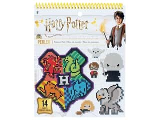 Books & Patterns: Perler Fused Bead Books Pattern Pad Warner Bros Harry Potter