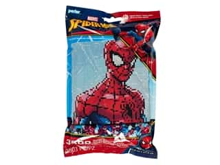 beading & jewelry making supplies: Perler Fused Bead Kit Pattern Bag Marvel Spider-Man