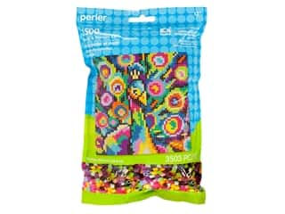 beading & jewelry making supplies: Perler Fused Bead Kit Pattern Bag Rainbow Peacock