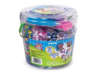 beading & jewelry making supplies: Perler Fused Bead Kit Bucket Believe In Magic 8500pc