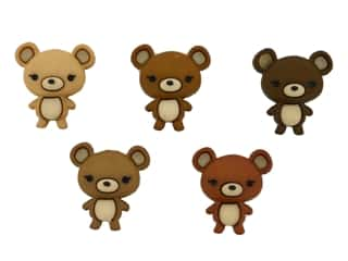 novelties: Jesse James Embellishments Bear Hugs