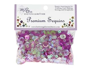 craft & hobbies: Buttons Galore 28 Lilac Lane Premium Sequins Crowned Glory