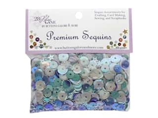 Buttons Galore 28 Lilac Lane Premium Sequins Plum Fancy