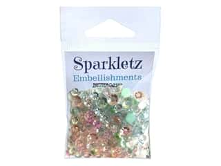 craft & hobbies: Buttons Galore Embellishments Sparkletz All Is Calm (3 sets)
