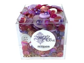 Buttons Galore 28 Lilac Lane Shaker Mix Lavender Fields