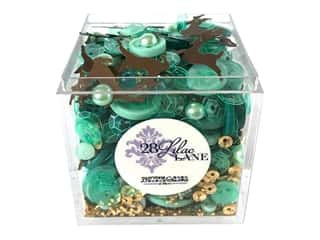 craft & hobbies: Buttons Galore 28 Lilac Lane Shaker Mix Reindeer Games