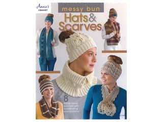 Annie's Messy Bun Hats & Scarves Book