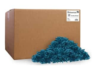 craft & hobbies: PA Essentials Crinkle Shred 10 lb. Teal