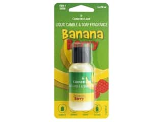 craft & hobbies: Country Lane Liquid Candle & Soap Fragrance Banana Berry 1 oz