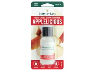 craft & hobbies: Country Lane Liquid Candle & Soap Fragrance Applelicious 1 oz