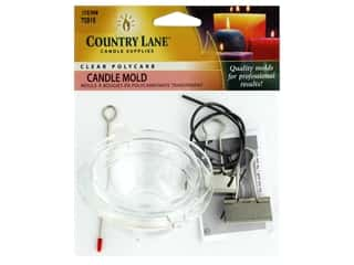novelties: Country Lane Candle Mold Polycarbonate Small Ball 2.5 in.