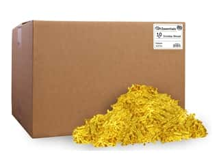 craft & hobbies: PA Essentials Crinkle Shred 10 lb. Yellow