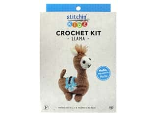 projects & kits: Stitchin' Kidz Kit Crochet Llama