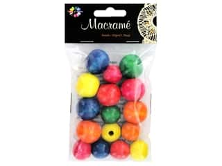 Midwest Design Embellishment Beads Macrame Mix Multi Color 1.76 oz