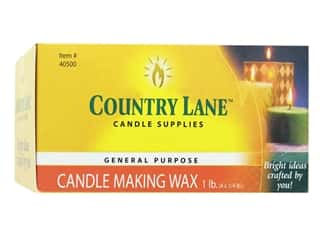 candle wax: Country Lane Wax General Purpose Candle Making 1lb