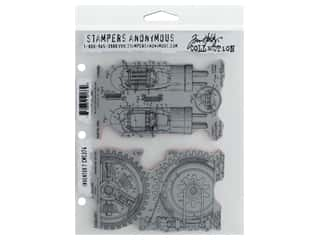 Stampers Anonymous Tim Holtz Cling Mount Stamp Set - Inventor #7
