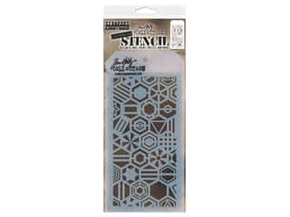 Stampers Anonymous Tim Holtz Layering Stencil - Patchwork Hex