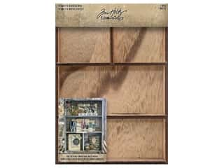 Tim Holtz Idea-ology Vignette Divided Box
