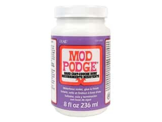 glues, adhesives & tapes: Plaid Mod Podge 8 oz. Hard Coat