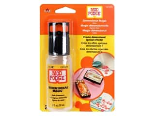 glues, adhesives & tapes: Plaid Mod Podge Dimensional Magic 2 oz.