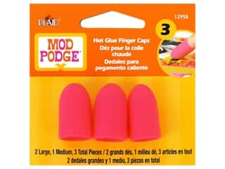 art, school & office: Plaid Mod Podge Tools Hot Glue Finger Caps 3 pc