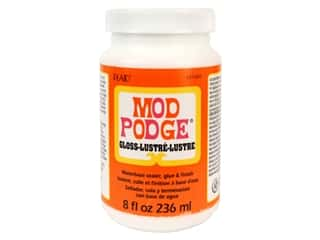 glues, adhesives & tapes: Plaid Mod Podge 8 oz. Gloss