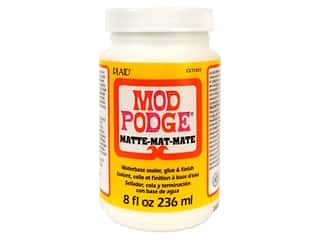 glues, adhesives & tapes: Plaid Mod Podge 8 oz. Matte