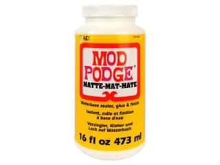 glues, adhesives & tapes: Plaid Mod Podge 16 oz. Matte