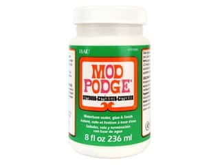 glues, adhesives & tapes: Plaid Mod Podge 8 oz. Outdoor