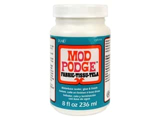 glues, adhesives & tapes: Plaid Mod Podge 8 oz. Fabric