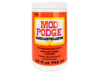 glues, adhesives & tapes: Plaid Mod Podge 32 oz. Gloss