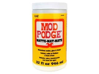 glues, adhesives & tapes: Plaid Mod Podge 32 oz. Matte