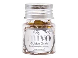 Nuvo Pure Sheen Gemstones .6 oz. Golden Ovals