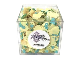 craft & hobbies: Buttons Galore 28 Lilac Lane Shaker Mix Easter Chic