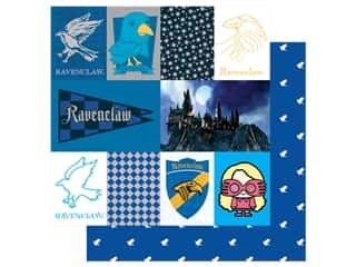 Paper House Paper 12 x 12 in. Warner Bros Harry Potter Ravenclaw Tag (15 pieces)