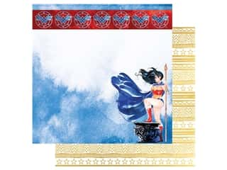 Paper House Paper 12 x 12 in. Wonder Woman Amazon Princess (15 pieces)