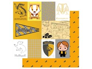 Paper House Paper 12 x 12 in. Warner Bros Harry Potter Hufflepuff Tag (15 pieces)