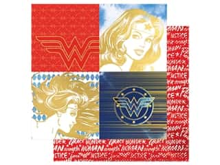 Paper House Paper 12 x 12 in. Wonder Woman Portraits (15 pieces)