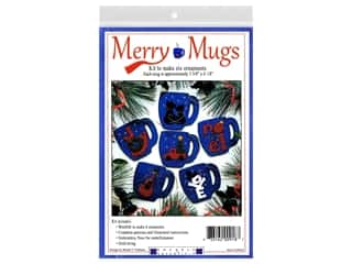 yarn & needlework: Rachel's Of Greenfield Kit Felt Merry Mugs