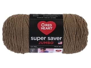 yarn & needlework: Red Heart Super Saver Jumbo Yarn 744 yd. #360 Cafe Latte