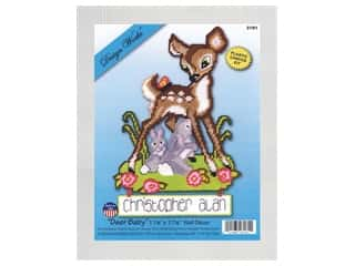 craft & hobbies: Design Works Kit Plastic Canvas Deer Baby