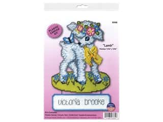 craft & hobbies: Design Works Kit Plastic Canvas Lamb