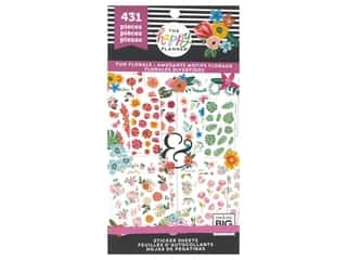 Me&My Big Ideas Happy Planner Sticker Value Pack Fun Florals