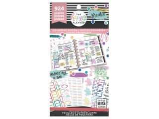 scrapbooking & paper crafts: Me&My Big Ideas Happy Planner Sticker Value Pack Colorful Boxes