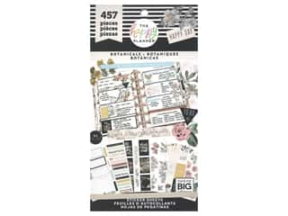 Me&My Big Ideas Happy Planner Sticker Value Pack Botanicals