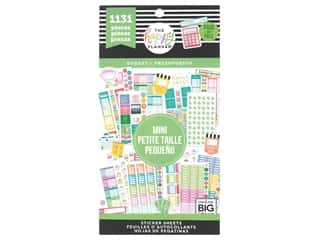Me&My Big Ideas Happy Planner Sticker Value Pack Mini Budget