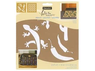 DecoArt Stencil Value Kraft 8 in. x 8 in. Southwest